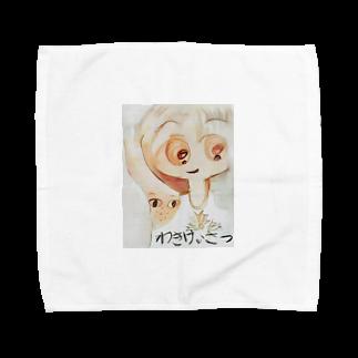 A-craft工房のわきけいさつ② Towel handkerchiefs