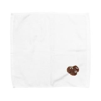 刺繍の(画像の)タピオカ Towel handkerchiefs