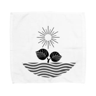 ロゴプリント Towel handkerchiefs