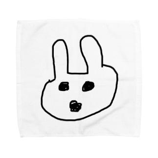 たそうさぎ Towel handkerchiefs