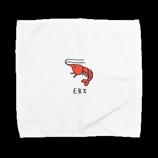 emihot_cakeのえびちゃん Towel handkerchiefs