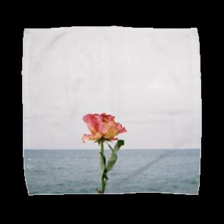 turara shopのバラ Towel handkerchiefs