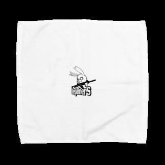 usagiiiiのBeginnerS らびっと!スケルトン Towel handkerchiefs