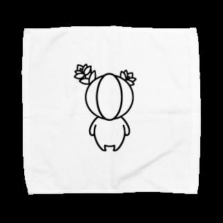 Ukapommeのギムノカリウム族 Towel handkerchiefs