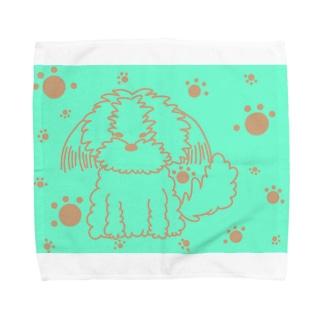 夏色シーズーちゃん Towel handkerchiefs