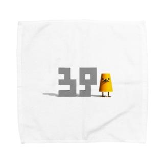 ミスター3939その1「39」 Towel handkerchiefs
