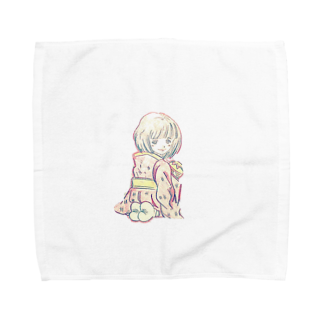 Yasuのwarasi Towel handkerchiefs