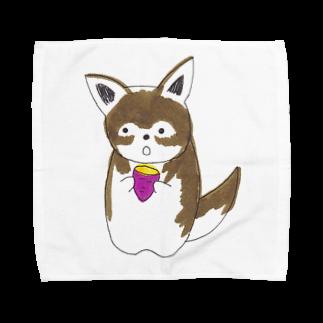 meri.の焼き芋大好きめりちゃん Towel handkerchiefs