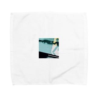 非常口使ってでも早急に帰りたい Towel handkerchiefs