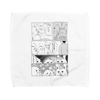 労働者 Towel handkerchiefs