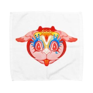 妄想ウサギ Towel handkerchiefs