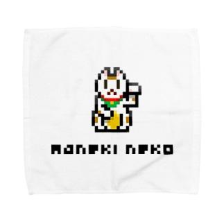 まねきねこ Towel handkerchiefs