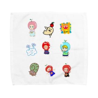 (^^) Towel handkerchiefs