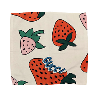 nsmrのいちご Towel handkerchiefs