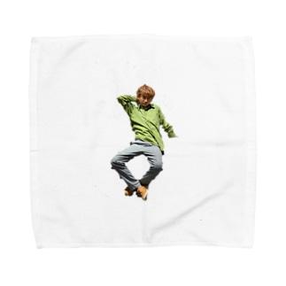 いけいけカッチー Towel handkerchiefs