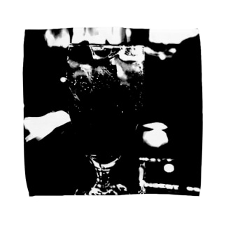 ブラック・コーク Towel Handkerchief