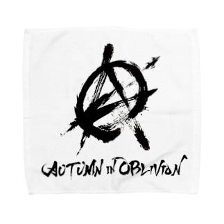 AiO公式ロゴハンドタオル Towel handkerchiefs