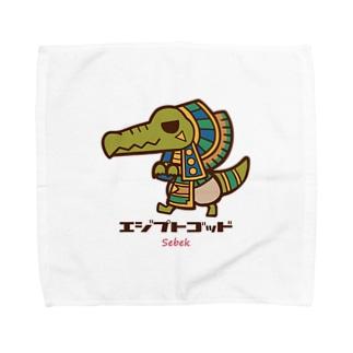 エジプトゴッドwithセベク Towel handkerchiefs