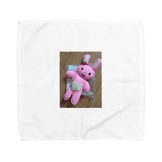 メンたる むぎちゃん Towel handkerchiefs