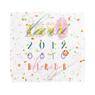 2019 ラビ誕 Towel handkerchiefs