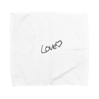 Love♡ Towel handkerchiefs