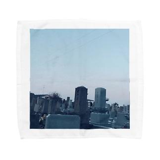 墓参り Towel handkerchiefs