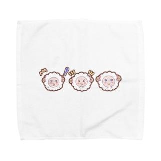 乙女ひつじ【トリプル】 Towel handkerchiefs