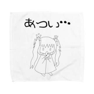 ゆるゆるゆぅちゃん すいかおいしいね Towel handkerchiefs