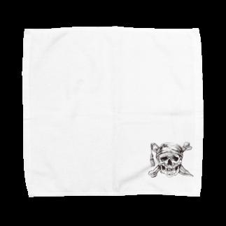 IZANAGIのドクロ~~ Towel handkerchiefs