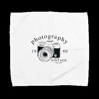 IZANAGIのレトロなカメラ Towel handkerchiefs