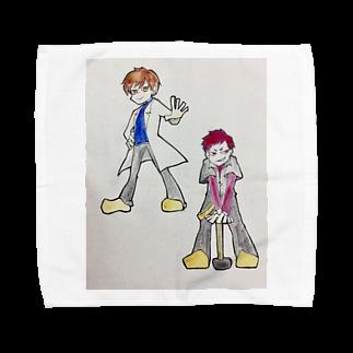 hentouの男二人 Towel handkerchiefs