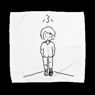 HAND部のふと思った時シリーズ Towel handkerchiefs