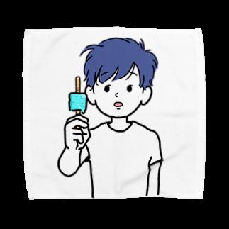 のりま屋のアイス君 Towel handkerchiefs