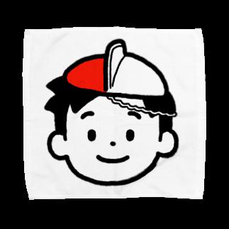 のりま屋の体操帽子くん Towel handkerchiefs