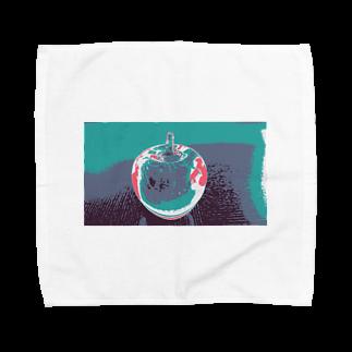 rinne_yuyuのリンゴ Towel handkerchiefs
