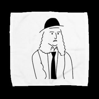 Hiroshi Tanakaのハットふぁさのパーマふぁさ Towel handkerchiefs