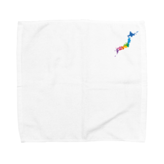 notteのNippon  Towel handkerchiefs
