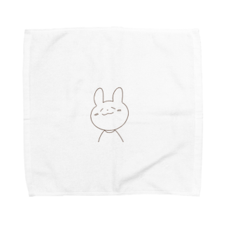 yn0のうさぎのこども Towel handkerchiefs