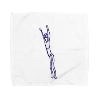 萎びたあいつ Towel handkerchiefs