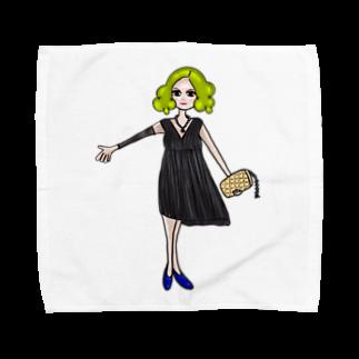 owlbeak5678の二次会女子 Towel handkerchiefs