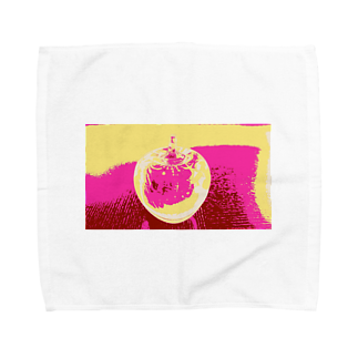 rinne_yuyuのアップル Towel handkerchiefs