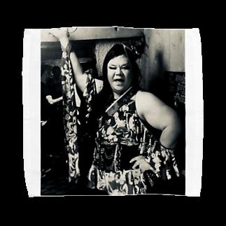 SADAHARU_ HIGA_HAUTE COUTREのSADAHARU HIGA HAUTE COUTURE・アムロにはなれなかったけどトシミにはなれた女装。 Towel handkerchiefs