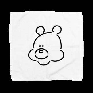 ミックスジュース。のくま(おとこのこ) Towel handkerchiefs