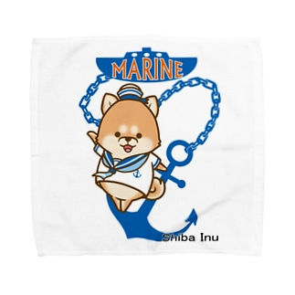 柴犬 マリンルック Towel handkerchiefs