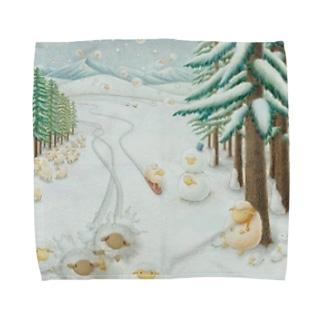 羊雪季節 Towel handkerchiefs