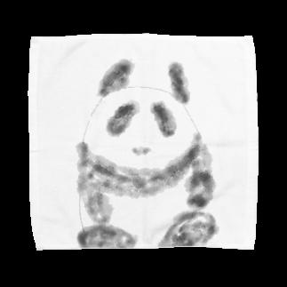 manamanawaruのパンダ⁉️ Towel handkerchiefs