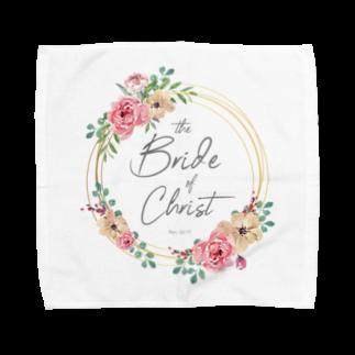 一羽のすずめのthe Bride of Christ Towel handkerchiefs