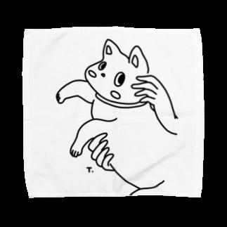 スズキタカノリのNekoちゃん Towel handkerchiefs