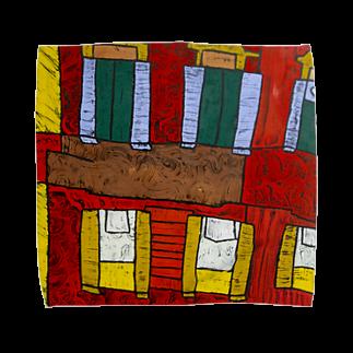 版画作家 北嶋勇佑のfacade in Piazza di Spagna -スペイン広場より- Towel handkerchiefs