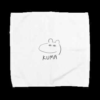 佐倉涼のKUMA Towel handkerchiefs
